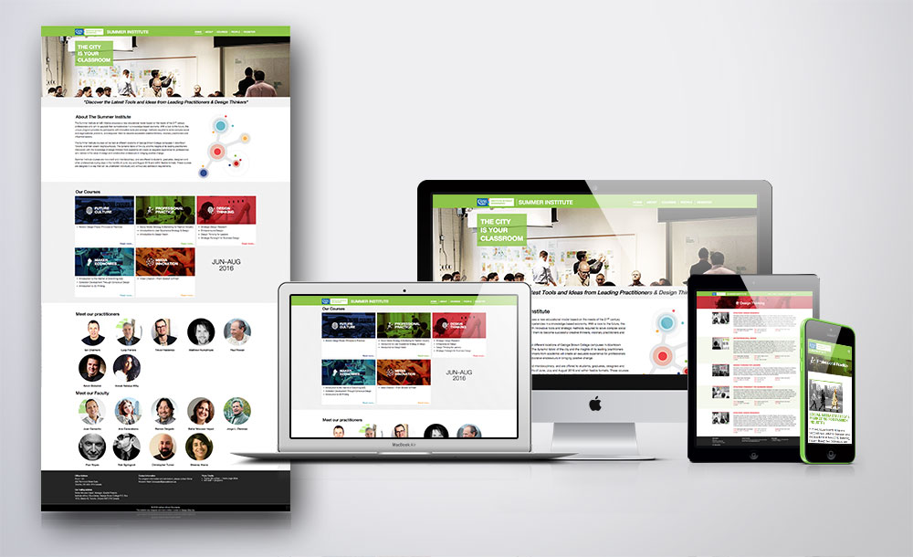 george brown college mobile application development